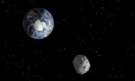 Asteroid DA14